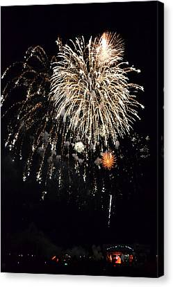 Fireworks Canvas Print by Michelle Calkins