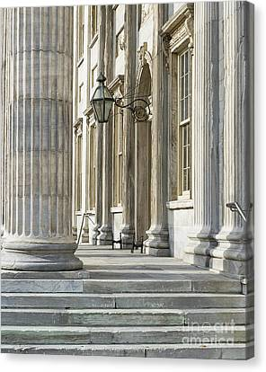 First Bank Of The United States Canvas Print by John Greim