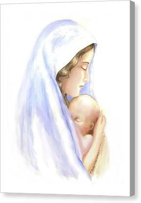 First Born Canvas Print by Roberta Roddy