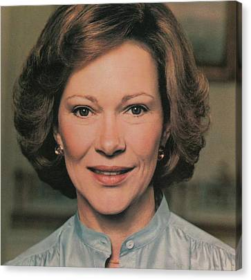 First Lady Rosalynn Carter Canvas Print by Everett