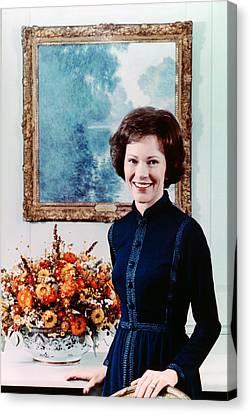 First Lady Rosalynn Carter  Official Canvas Print by Everett