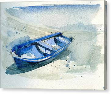 Fishing Boat Canvas Print by Stephanie Aarons