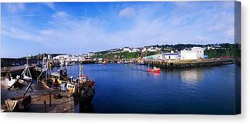 Fishing Harbour, Dunmore East, Ireland Canvas Print by The Irish Image Collection