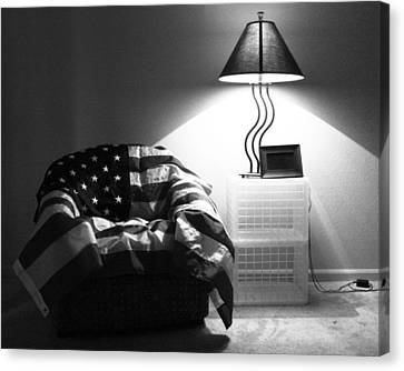 Flag Series No. 2 Canvas Print by Julia Pappas