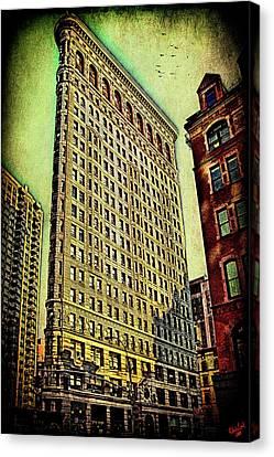 Flatiron Building Again Canvas Print by Chris Lord