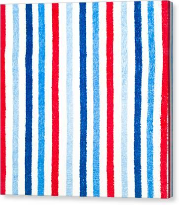 Fleece Background Canvas Print by Tom Gowanlock