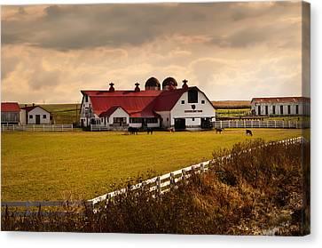 Flemingsburg Farm Ky Canvas Print by Randall Branham