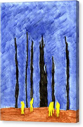 Flight 93 Canvas Print by Eric Forster
