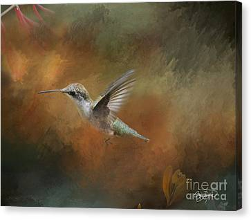 Flight Of The Angel  Canvas Print by Cris Hayes