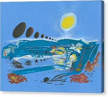 Flood Scape Canvas Print by Ralf Schulze