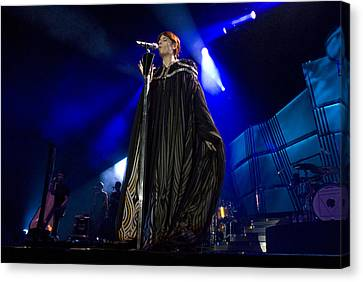 Florence And The Machine Canvas Print by Jenny Potter