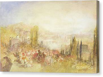 Florence Canvas Print by Joseph Mallord William Turner