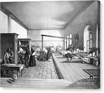 Florence Nightingale, English Nurse Canvas Print by Photo Researchers, Inc.