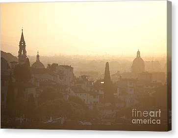 Florentine Sunset Canvas Print by Steven Gray