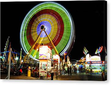 Florida State Fair 2012 Canvas Print by David Lee Thompson