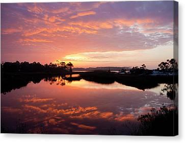 Florida Sunrise Canvas Print by Charles Warren