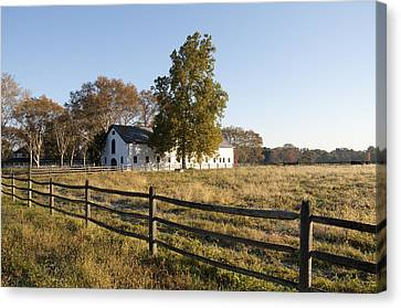 Flourtown Morning Canvas Print by Bill Cannon