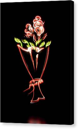 Flower Canvas Print by Mxing Photography
