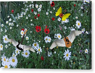 Flower Power  Canvas Print by Eric Kempson