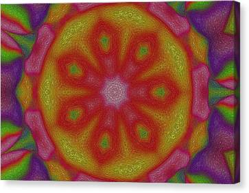 Flower Power Canvas Print by Steve K