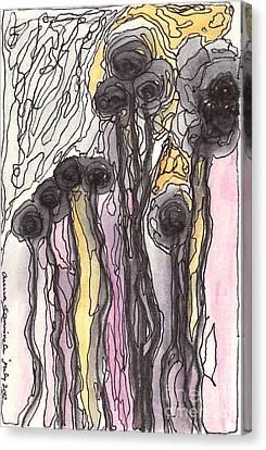 Flowers Canvas Print by Aruna Samivelu
