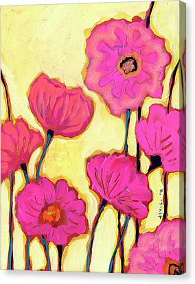 Flowers For Coralyn Canvas Print by Jennifer Lommers