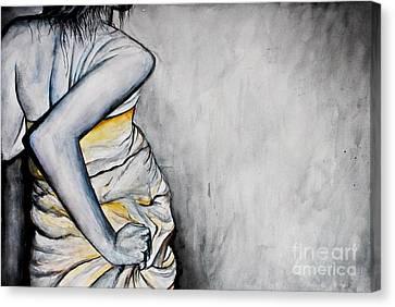 Fluid Essence Canvas Print by Sarah Ashbaugh