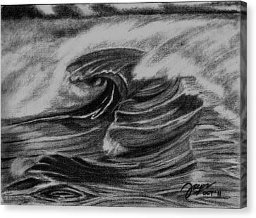 Flux Canvas Print by Cheppy Japz