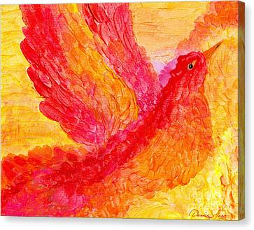 Flying Free Canvas Print by Denise Hoag