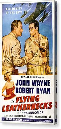 Flying Leathernecks, John Wayne, Robert Canvas Print by Everett