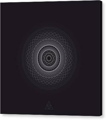 Focus Ring V25.1 Canvas Print by Guardians of the Future
