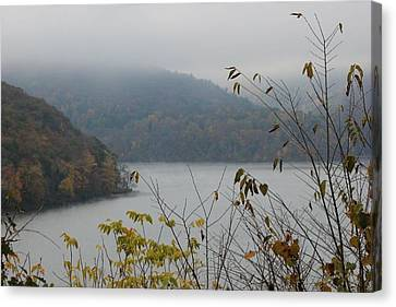 Fog Lifted Canvas Print by Static Studios