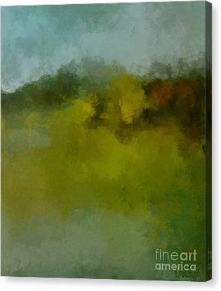 Foggy Day Canvas Print by Dragica  Micki Fortuna