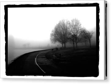 Foggy Day H-3 Canvas Print by Mauro Celotti