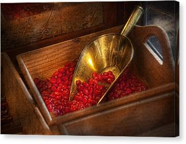 Food - Candy - Hot Cinnamon Candies  Canvas Print by Mike Savad