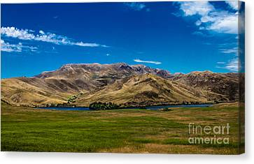 Foothills Canvas Print by Robert Bales