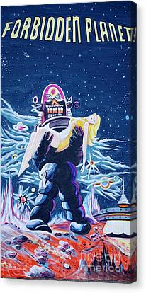 Forbidden Planet  Canvas Print by Judy Groves