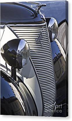 Ford Eifel Cabrio 1939 Classic Car Canvas Print by Heiko Koehrer-Wagner