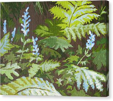 Forest Floor Canvas Print by Sandy Tracey