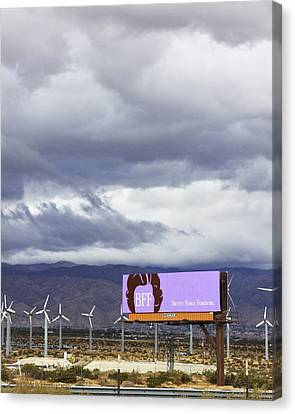 Forever Palm Springs Canvas Print by William Dey