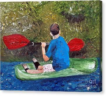 Forever Young Canvas Print by Ayasha Loya Aka Pari  Dominic