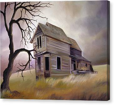 Forgotten But Not Gone Canvas Print by James Christopher Hill