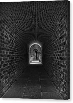 Fort Clinch Canvas Print by Mario Celzner