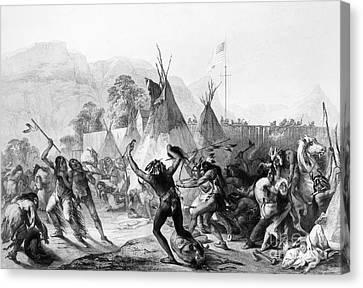 Fort Mckenzie, 1833 Canvas Print by Granger