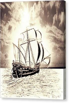 Forwaed Canvas Print by Yury Bashkin