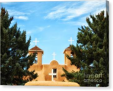 Four Crosses Canvas Print by Tamera James