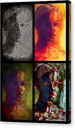 Four Seasons Canvas Print by Diane montana Jansson