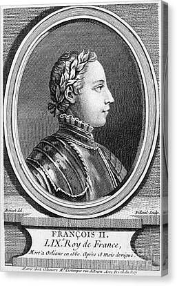 Francis II (1544-1560) Canvas Print by Granger