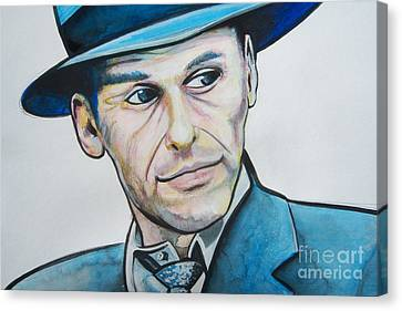 Frank Sinatra Canvas Print by Ken Huber