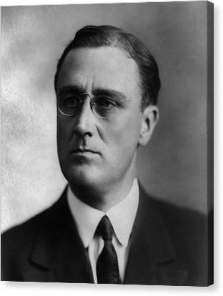Franklin Delano Roosevelt Canvas Print by International  Images